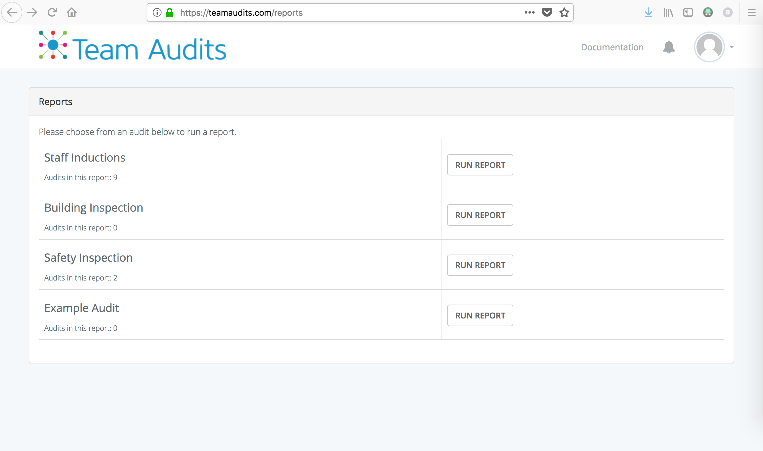 Export Audits To Csv Excel Format